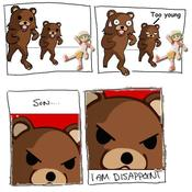 Pedobear i am disappoint